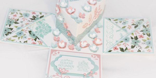 Hochzeitsgeschenk Box Fur Geldgeschenk Explosionsbox Aigenmade