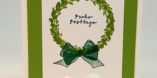 Weihnachtskarten Baby Basteln.Weihnachtskarte Basteln Versuch 1 Aigenmade Stampin Up
